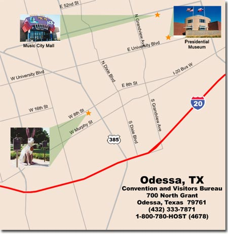Odessa Texas Travel Pal International